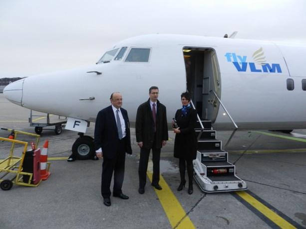 Luchtlijn Antwerpen-Genève officieel van de grond