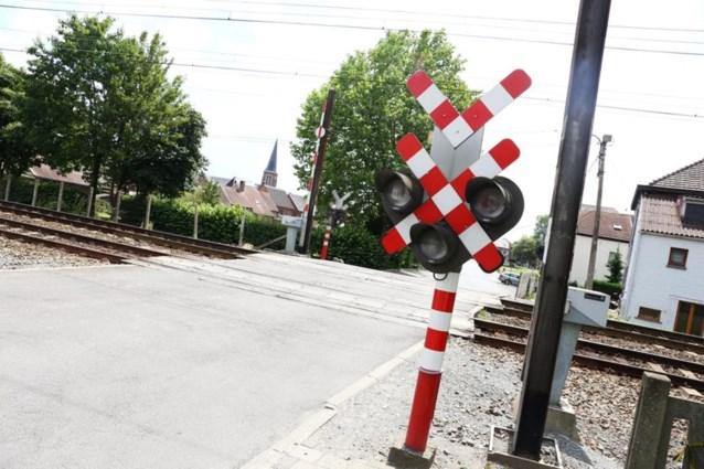 Weer meer ongevallen en slachtoffers aan spooroverwegen