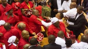 Chaotische State of the Union van president Zuma