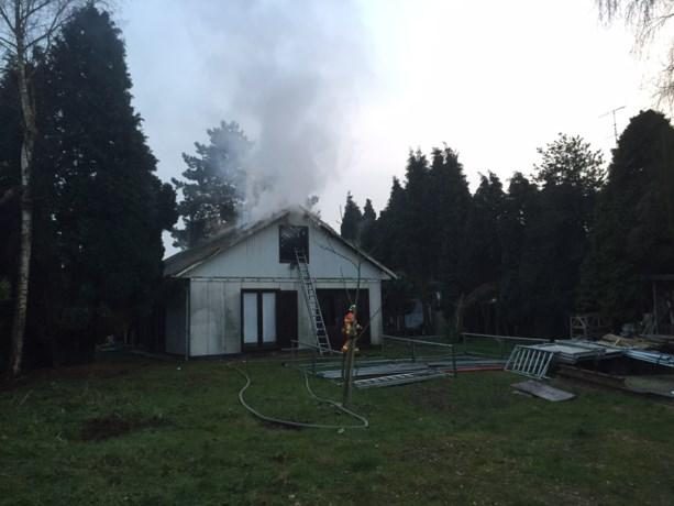 Cannabisplantage veroorzaakt brand in leegstaande woning