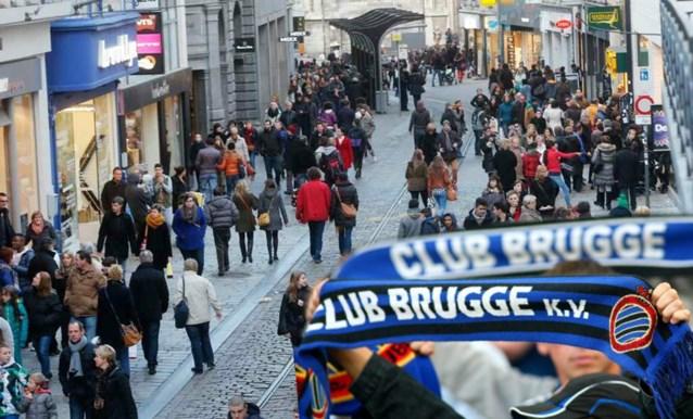 Club Brugge-sjaals verboden in centrum van Gent deze zondag