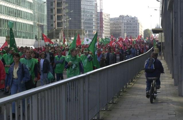 Vakbonden houden provinciale manifestaties op 31 maart en 1 april
