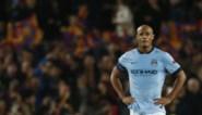 Vincent Kompany opnieuw op de bank bij Manchester City