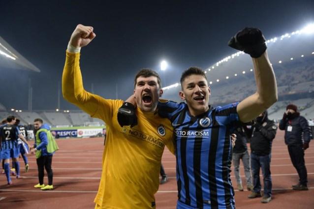 Dit zijn de mogelijke tegenstanders van Club Brugge in de kwartfinale