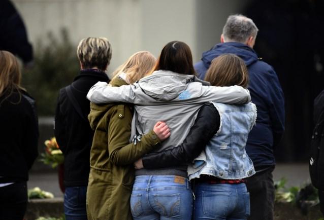 Duitse school: 'Gisteren waren we met velen, vandaag zijn we alleen'