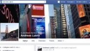 Facebook wijzigt status van pagina Lubitz