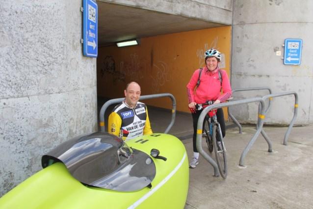 Fietstunnel 'off limits' voor bakfiets of ligfiets