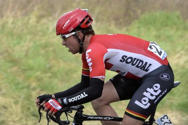 De Bie vervangt zieke Boeckmans in Ronde-selectie Lotto Soudal
