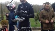 Tom Boonen zit alweer op de fiets