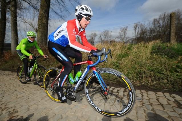 Langeveld aan de start in Ronde van Vlaanderen