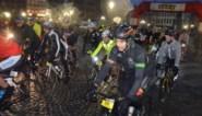Deelnemers vermijden Koppenberg en rijden kortere afstand door slechte weer