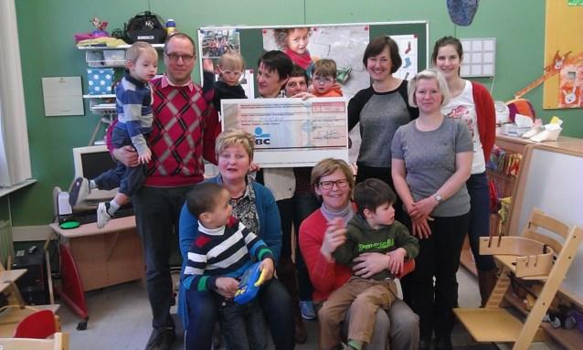 Wit-Gele Kruis Oudenaarde steunt Levensblij