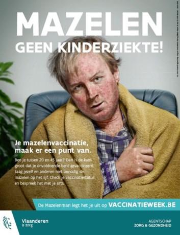 Bent u al ingeënt tegen mazelen?