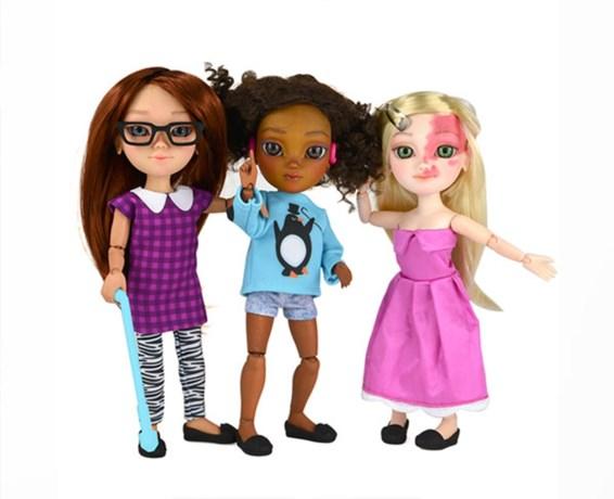 Veranderen deze poppen met een beperking de speelgoedindustrie?