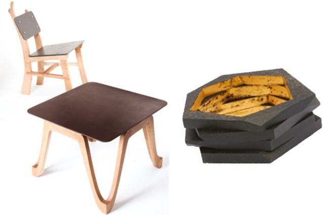 Brits bedrijf maakt meubelen van koffie