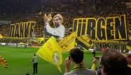 Dortmund-fans wuiven Jurgen Klopp uit