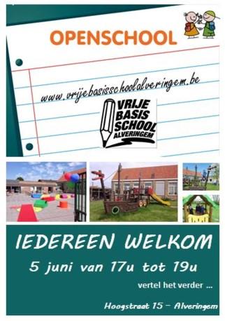 Open school in vbs Alveringem