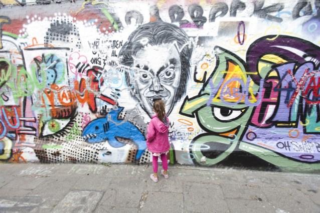 Gents 'Graffitistraatje' viert in juli 20ste verjaardag