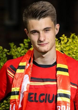 Pieter Leemans is benjamin van nationale ploeg