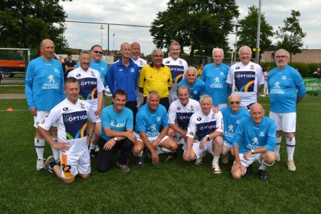 Wandelvoetbal 55  Verbroedering Beersel-Drogenbos speelde 1ste maal op verplaatsing