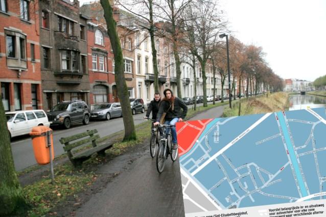 Het Mobiliteitsplan in detail (3): op Coupure Links enkel auto's van bewoners