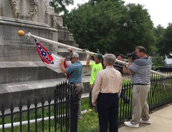 Controversiële vlag weggehaald bij Capitool Alabama