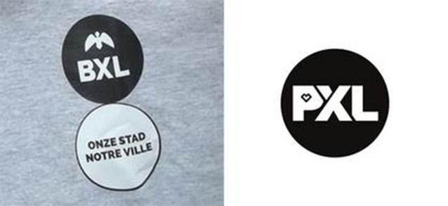 PXL wil dat stad Brussel nieuw logo herbekijkt: 'De gelijkenissen zijn te groot'