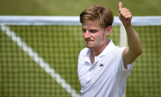 David Goffin komt vrijdag om 13u15 in actie op Wimbledon: volg hier LIVE!