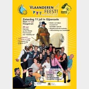 'Gelukkig zijn' in het kader van Vlaanderen Feest op zaterdag 11 juli
