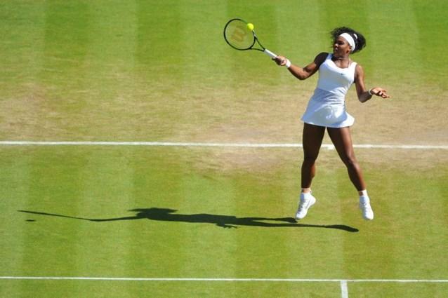 Serena Williams op weg naar alweer een nieuwe mijlpaal
