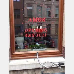 Voor koffie en design moet je bij Amok zijn
