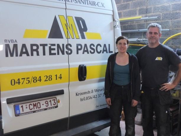 Radicale jobwissel: sociaal werkster Priscilla wordt loodgieter