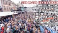 De duizelingwekkende cijfers van tien dagen Gentse Feesten