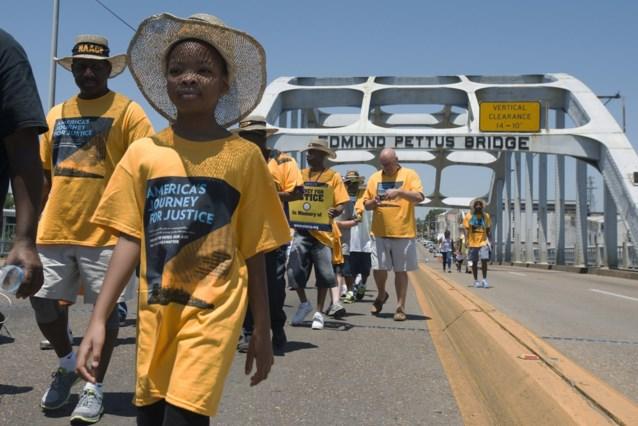 Selma na vijftig jaar opnieuw vertrekpunt voor protestmars