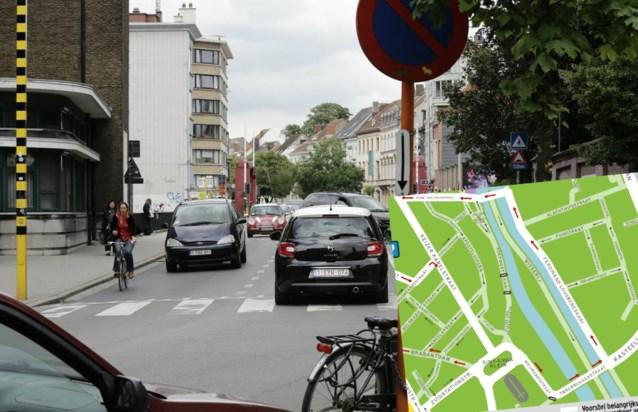 Het Mobiliteitsplan in detail (10): Tweebruggenstraat en Lousbergkaai worden één richting