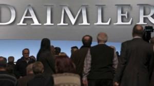 Daimler verkocht dit jaar al meer dan een miljoen wagens