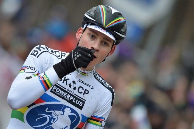 Mathieu Van der Poel hervat moeizaam na blessure