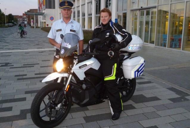 Politie Rupel rijdt geruisloos op elektrische motoren