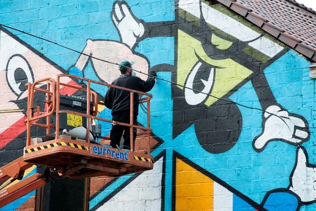 Graffiti krijgt plek in het Genkse straatbeeld