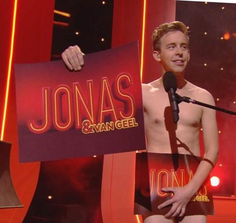 Jonas Van Geel in zijn blootje