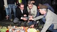 Tweehonderd mensen wonen kaarsenwake voor slachtoffers ongeval bij