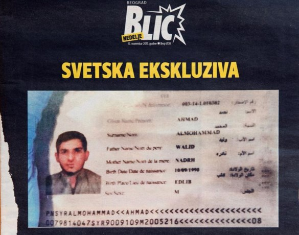 Syrisch paspoort van terrorist duikt plots op in Servië