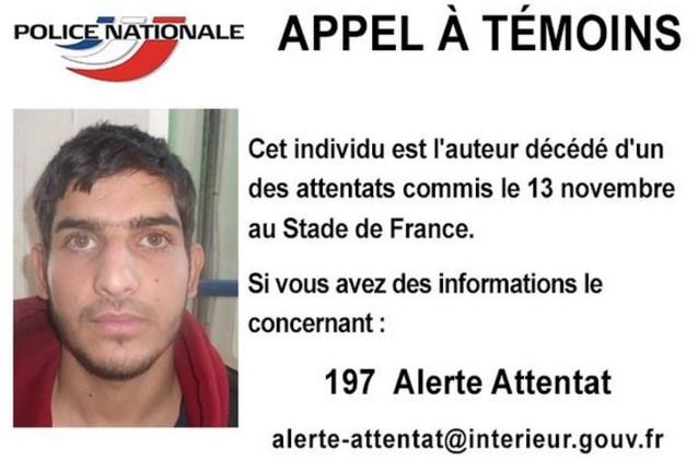 Franse politie zoekt meer informatie over dader aanslag Parijs
