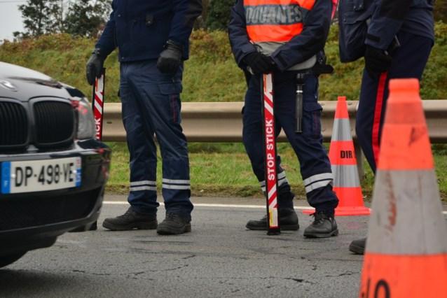 Politie massaal ingezet na incident met voertuig aan Frans-Belgische grens