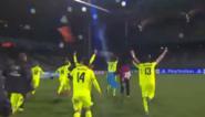 Gent-spelers vieren zege in Lyon...voor lege tribune