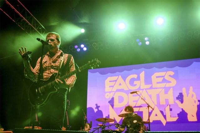 Eagles of Death Metal niet samen met U2 op podium in Parijs