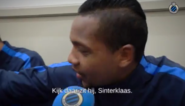 Izquierdo weet wie Sinterklaas is bij Club Brugge