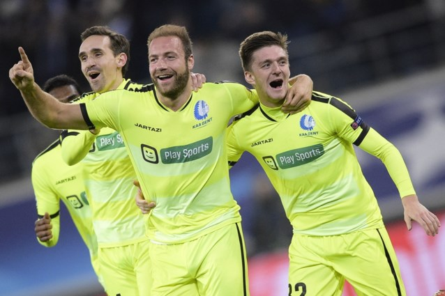 Sterk AA Gent verslaat Zenit en bereikt als eerste Belgische club in 15 jaar achtste finales