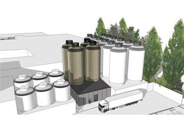 Vervoer van lageringstanks naar brouwerij uitgesteld