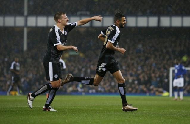 Lukaku en Mirallas scoren, maar Everton verliest tegen herfstkampioen Leicester